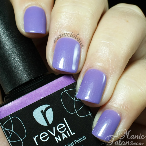 Revel Nail Gel Polish London Swatch