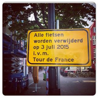 Alle fietsen worden vanaf 3 juli verwijderd i.v.m. de Tour de France