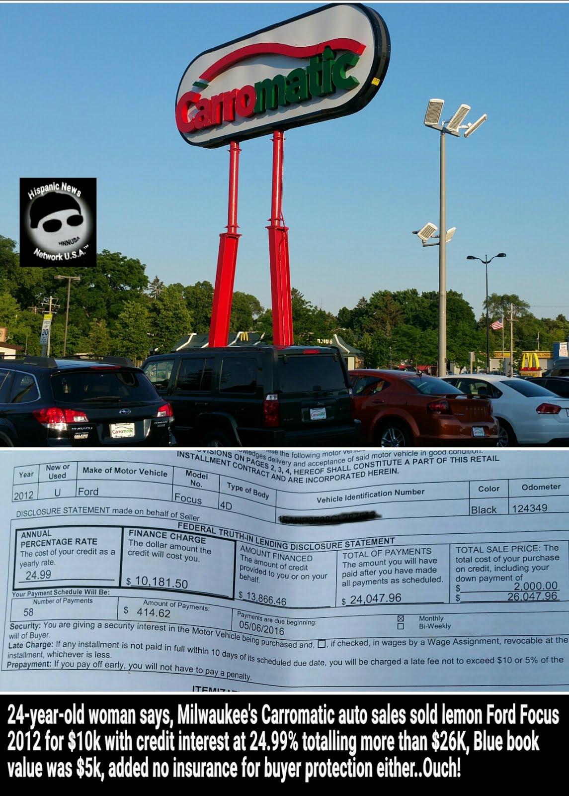 Hispanic News Network U.S.A.: Milwaukee\'s Carromatic Sold Alleged ...