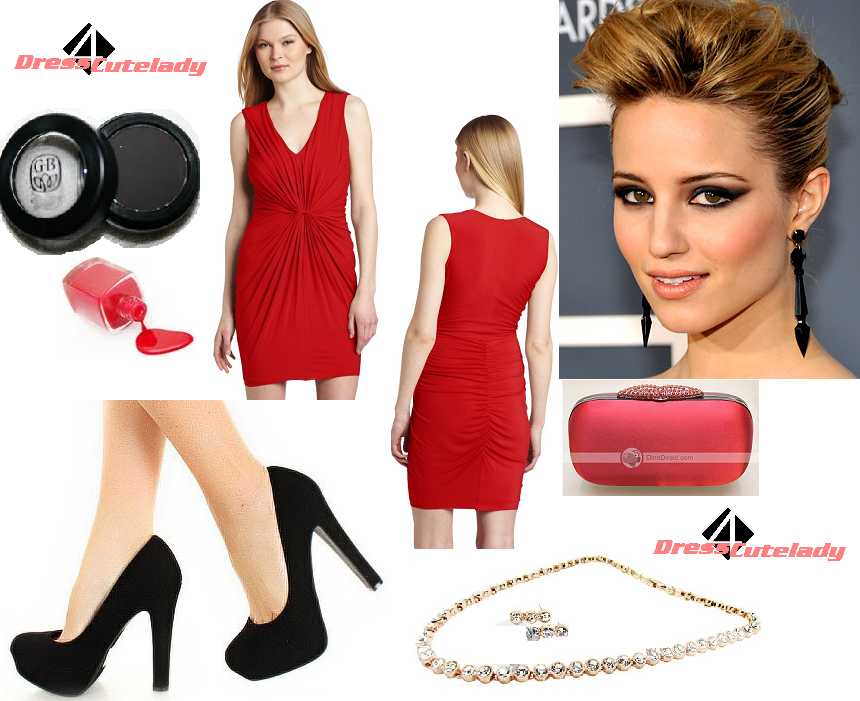 Dress4Cutelady: How to wear red dress for elegant looking with ...