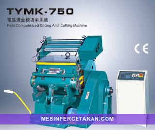 TYMK-750 Die Cutting Machine with Hot Stamping