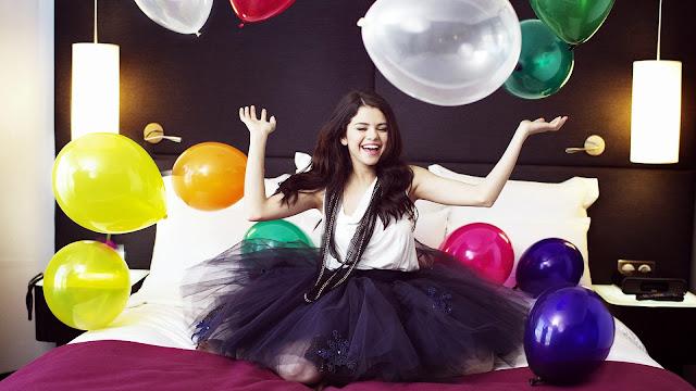 Foto de Selena Gomez de cumpleaños