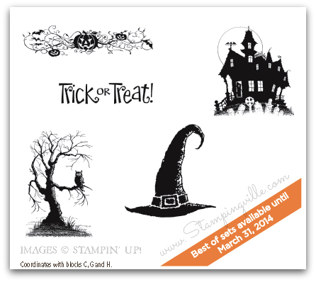 Stampin' Up! Best of Halloween stamp set