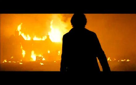 Skyfall Javier Badem Raoul Silva burn
