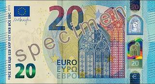Le nouveau billet de 20 euros