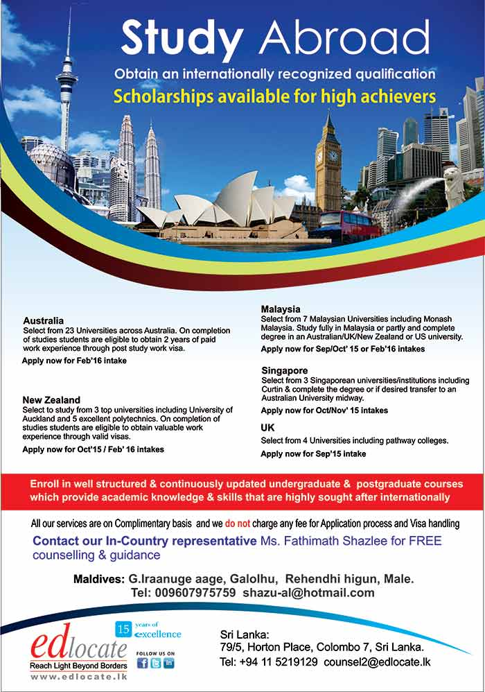 Reach Higher with Overseas Education