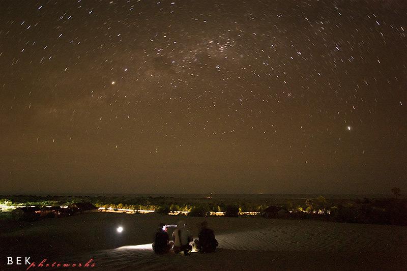 malam bertabur bintang @gumuk pasir