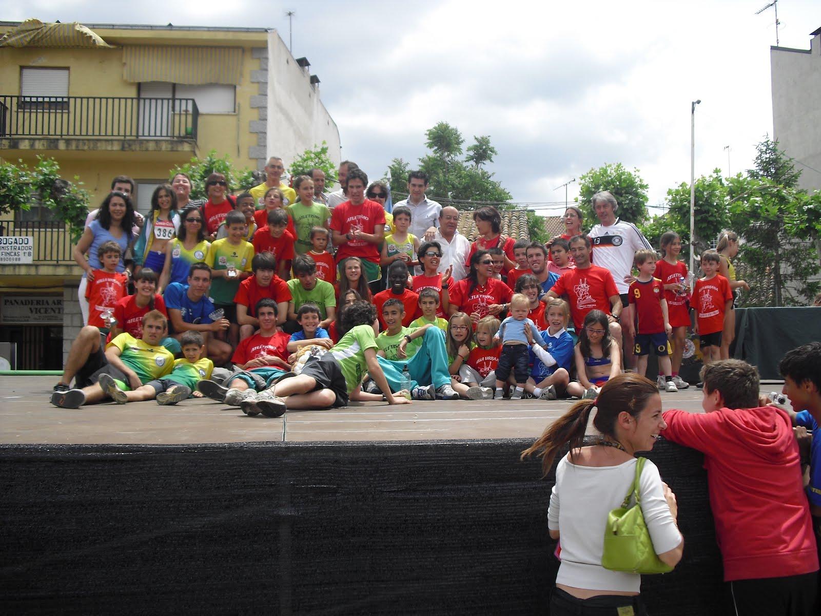 Club De Atletismo Las Ardillas De El Escorial Xiii Milla