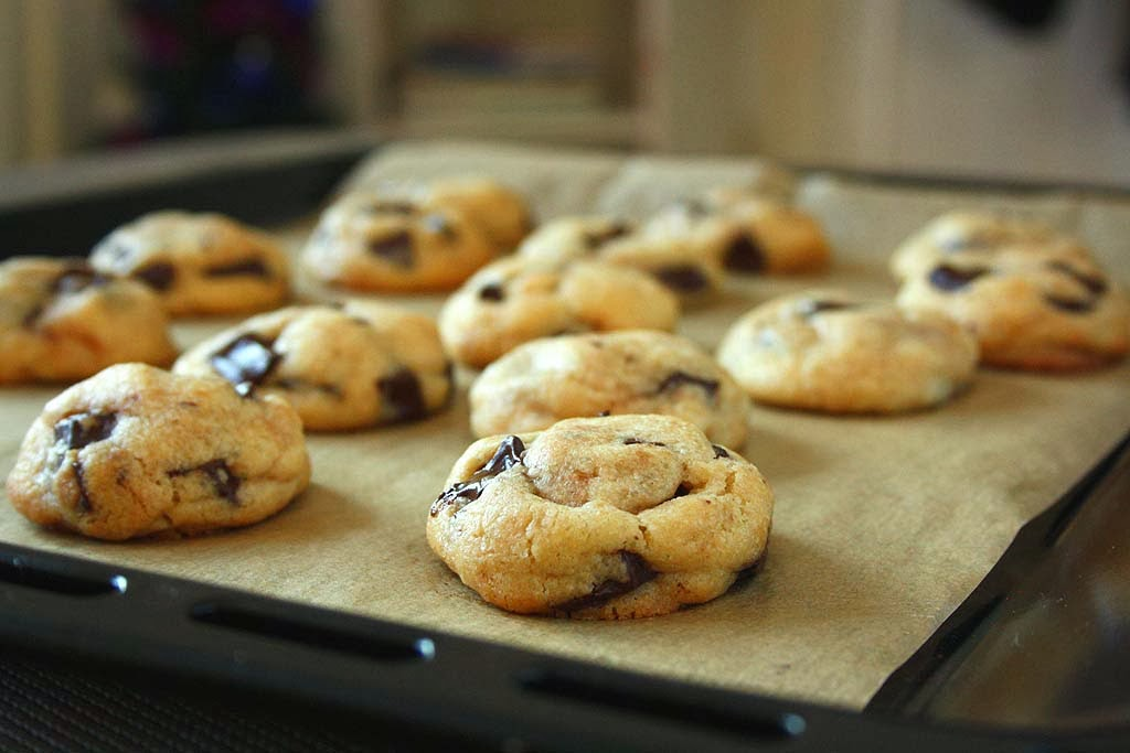 collecting memories: Perfect Chocolate Chip Cookies