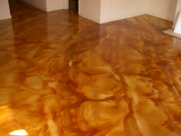 Acid stain concrete for How to clean acid stained concrete