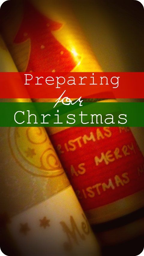 Preparing for Christmas - A Thrifty Mrs