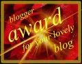 a lovely award...από την Σοφία