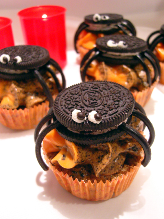 Krbis-Oreo-Cupcakes