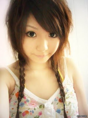 cute emo hairstyles for girls. emo hairstyles for girls with