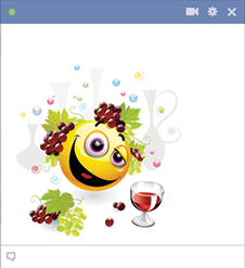 Dionysus Facebook Emoticon