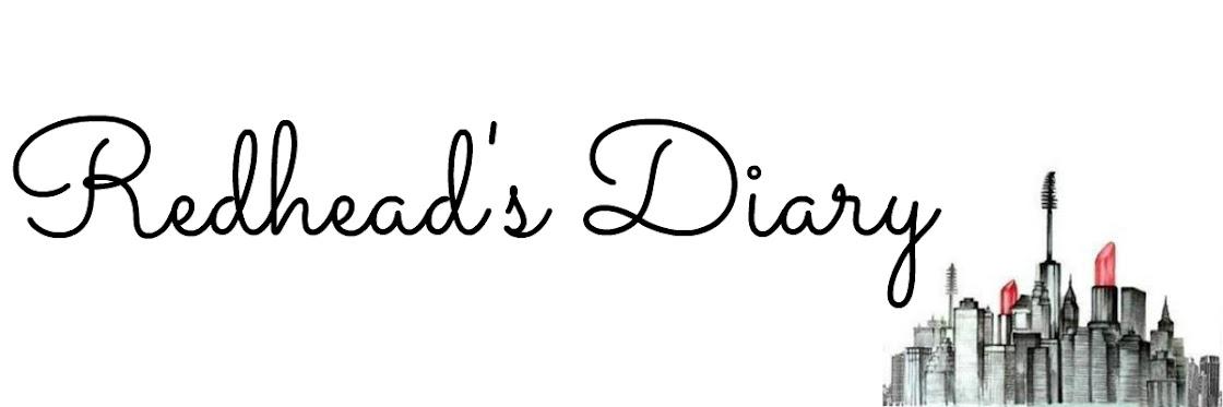 Redhead's Diary