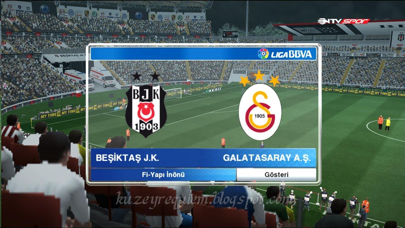 Pes 2013 Galatasaray Türk Telekom Arena Stadyum yaması 2