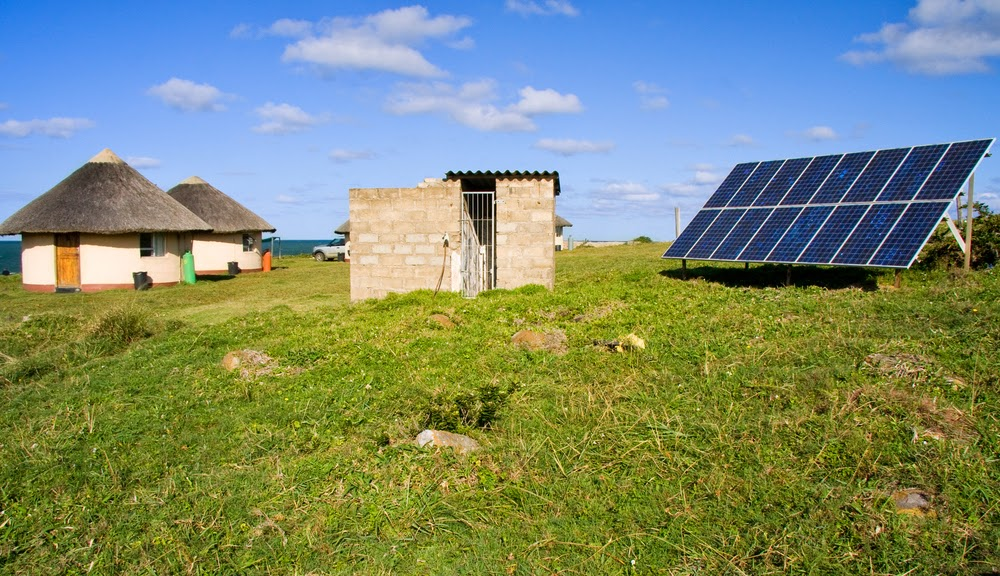 Solar in Rural Africa (Credit: Shutterstock) Click to enlarge.