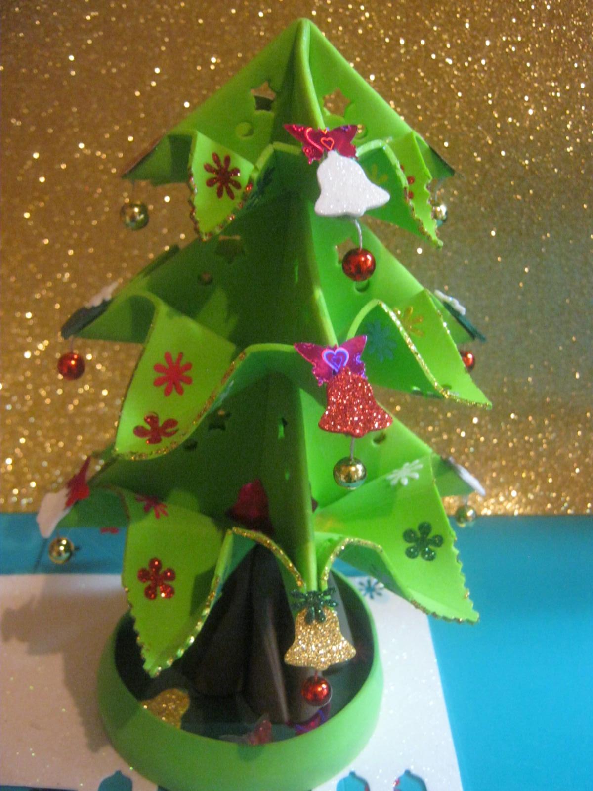 Zona purpura 11 12 12 - Manualidades de navidad en goma eva ...