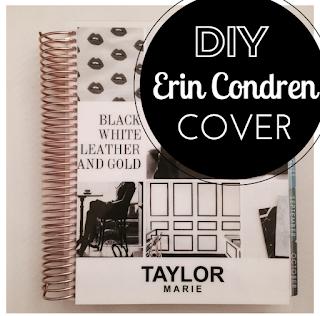 DIY erin condren life planner cover giveaway how to make your own erin condren planner new rose gold 2015 2016 planner erin