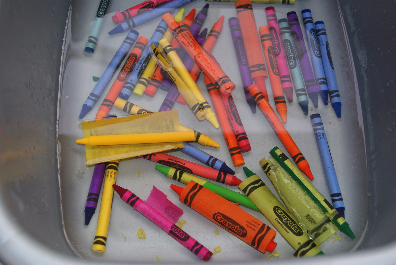 Crayon melting art images amp pictures becuo - And Wait For The Wrappers To Come Off Themselves