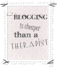 i blog because...