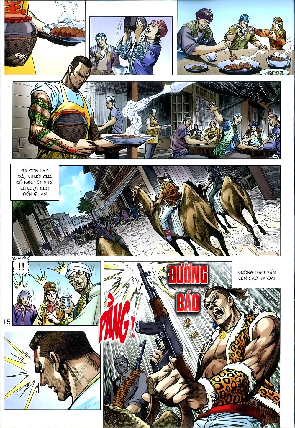 Tân Tác Long Hổ Môn chap 812 Trang 15 - Mangak.info