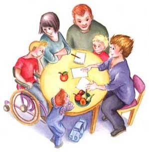 hushållsbudget familj