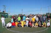 Φιλικός αγώνας ποδοσφαίρου των Κατηχητικών μας Ομάδων με την Ενορία Κοιμ. Θεοτόκου Οβρυάς