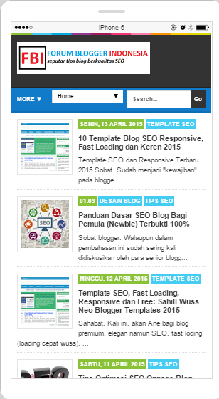 SLB-Template | Super SEO, Fast Loading and Responsive Blogger Template