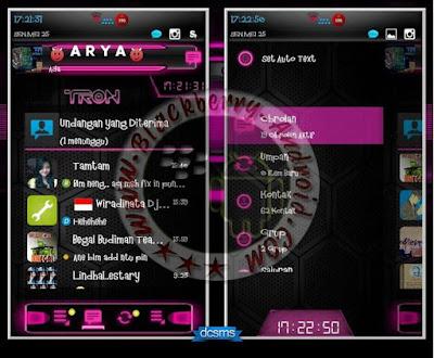 BBM Mod Droid Chat Warna Pink v2.8.0.21 Apk