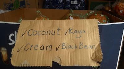 Bersih 4: Free coconut buns, kaya buns, black bean buns etc