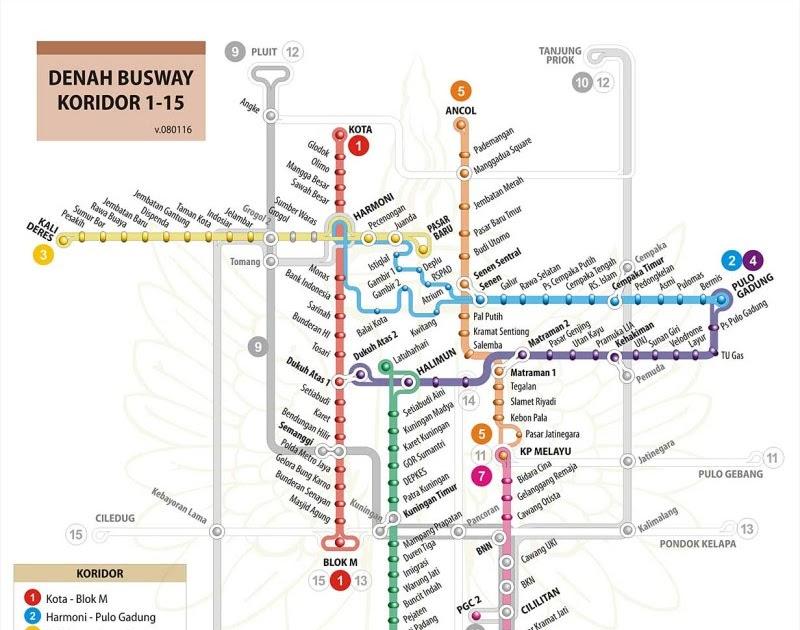 dunia_kuu: Rute Busway TransJakarta