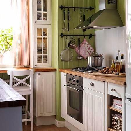 Decotips 4 tips para decorar cocinas peque as decoraci n - Cocina pequena ikea ...