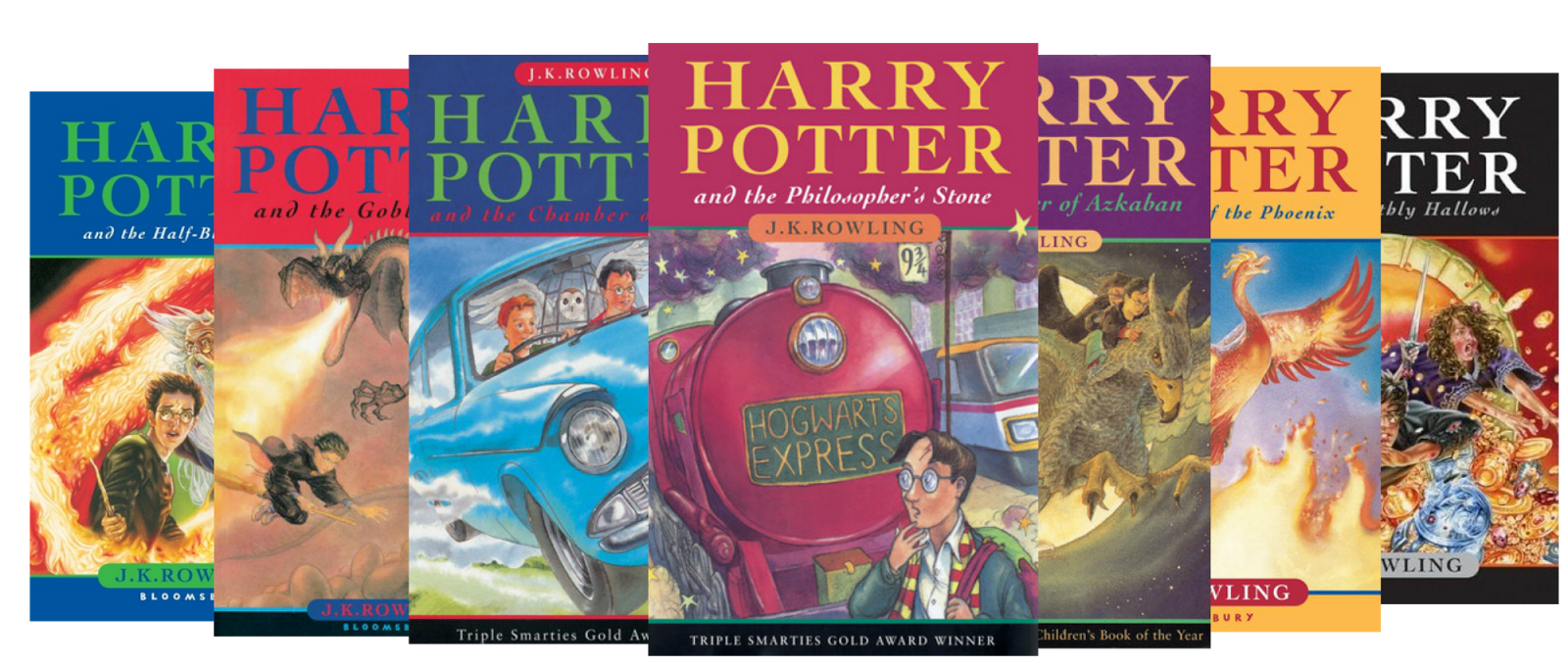 Harry Potter Books Young Readers : What s on my book shelf