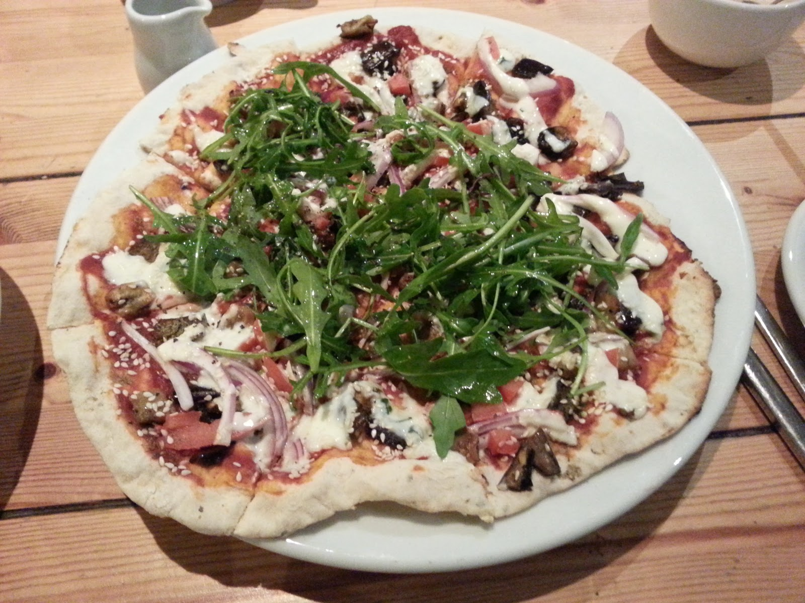Vegan Pizza Mono, Glasgow
