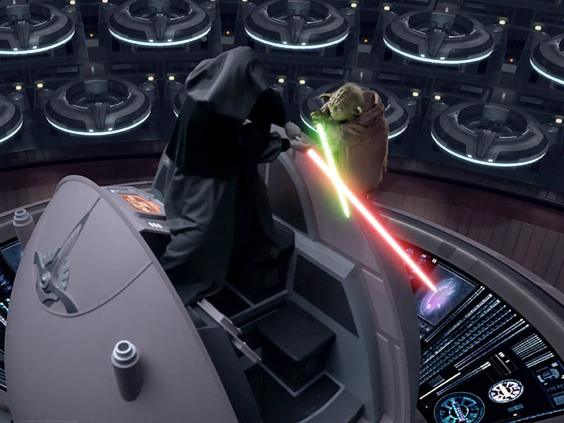 master yoda vs darth - photo #33