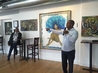 Andre Guichard Bronzeville Art District Gallery Trolley Tour
