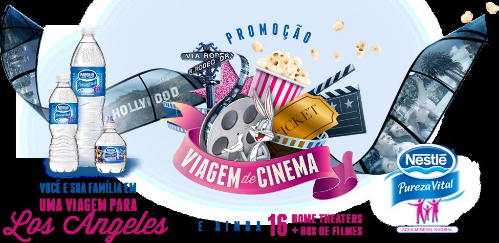 Promoção Viagem de Cinema - Nestlé Pureza Vital