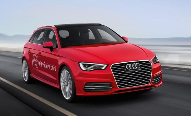 Audi A3 Sportback e-tron driving