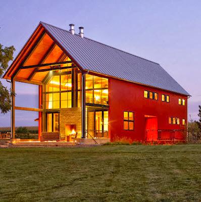Fachadas de casas modernas en el campo dise os y estilos for Modernizar fachada casa