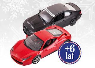 Samochód sterowany radiowo z Biedronki Ferrari BMW