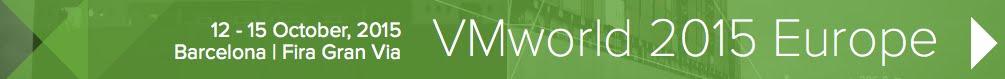 VMworld 2015 Banner