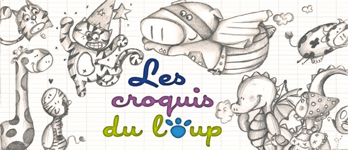les croquis du loup