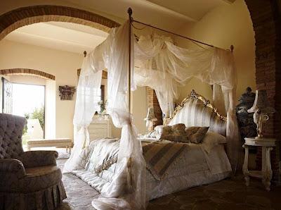 Cose della nonna letto a baldacchino - Camera da letto baldacchino ...