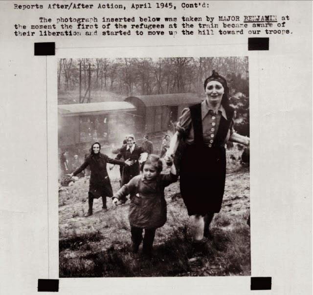 20 Foto Penuh Emosi Yang Membuat Terharu Wajah Bahagia Tawanan Nazi
