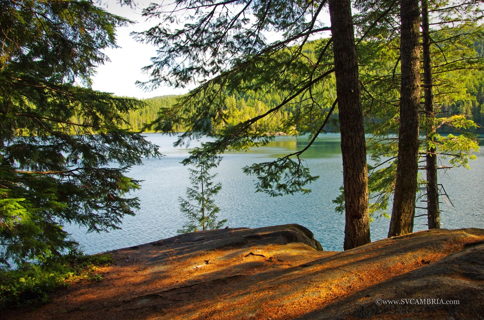 Newton Lake, Quadra Island.