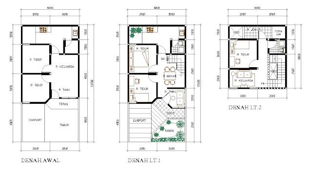 taman rumah usahakan rumah minimalis type 36 ini