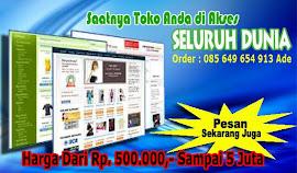 JUAL WEBSIDE UNTUK TOKO ONLINE