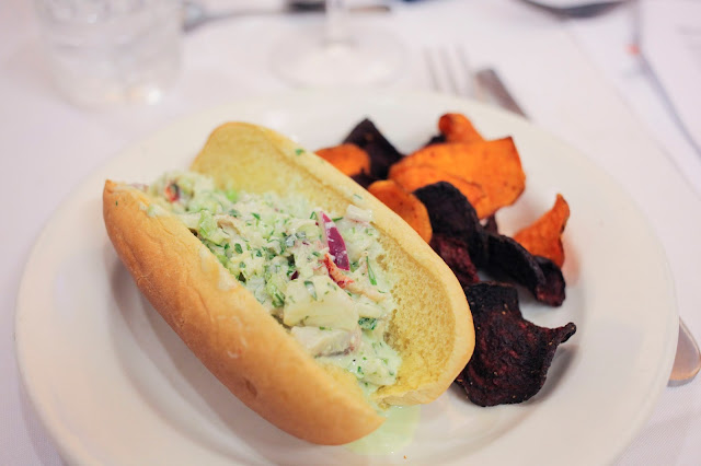 Lobster Roll at Publix Apron's Cooking School